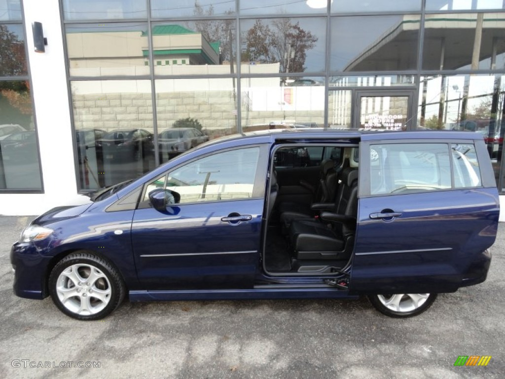 2009 stormy blue mica mazda mazda5 grand touring 56014075. Black Bedroom Furniture Sets. Home Design Ideas