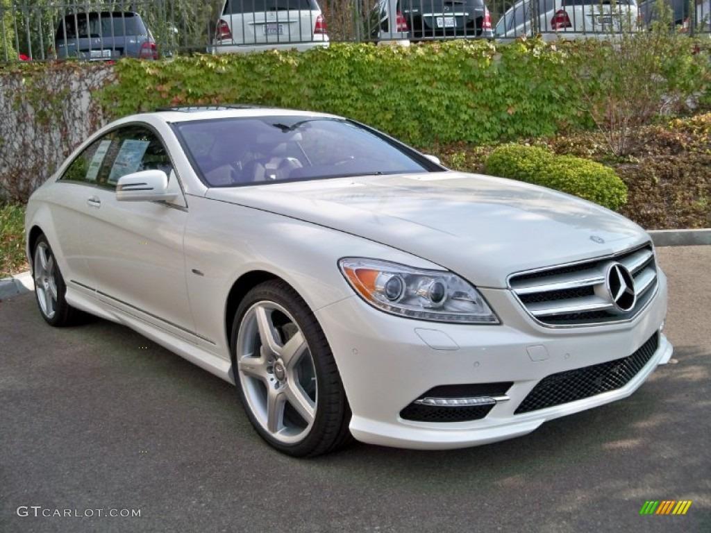 2012 diamond white metallic mercedes benz cl 550 4matic for Mercedes benz color