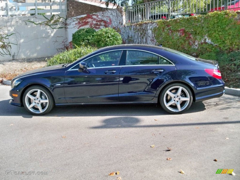Lunar blue metallic 2012 mercedes benz cls 550 coupe for 2012 mercedes benz cls