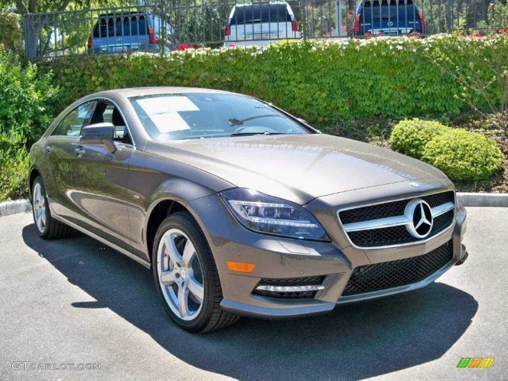 Indium grey metallic 2012 mercedes benz cls 550 coupe for 2012 mercedes benz cls