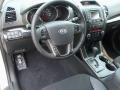 Black Interior Photo for 2012 Kia Sorento #56055143