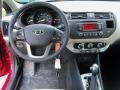 Dashboard of 2012 Rio Rio5 LX Hatchback