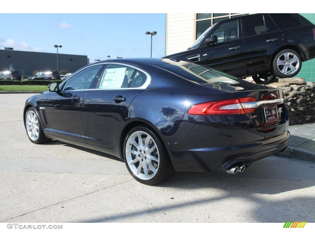 azurite blue metallic 2012 jaguar xf supercharged exterior photo 56056439. Black Bedroom Furniture Sets. Home Design Ideas