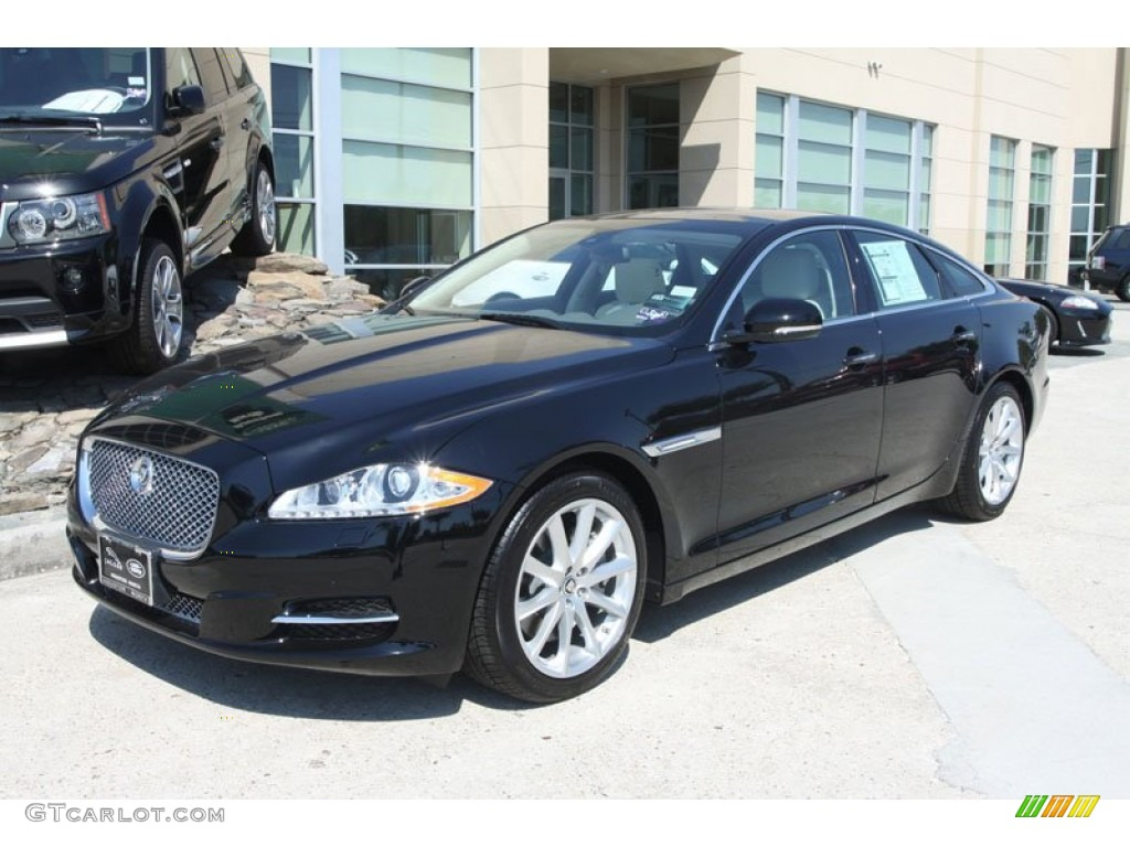Ebony 2012 jaguar xj xj exterior photo 56057333 for Jaguar xj exterior