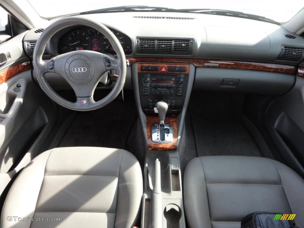 2000 audi a4 2 8 quattro avant opal gray dashboard photo. Black Bedroom Furniture Sets. Home Design Ideas