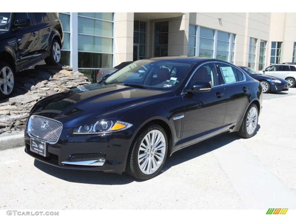 azurite blue metallic 2012 jaguar xf portfolio exterior photo 56059958. Black Bedroom Furniture Sets. Home Design Ideas
