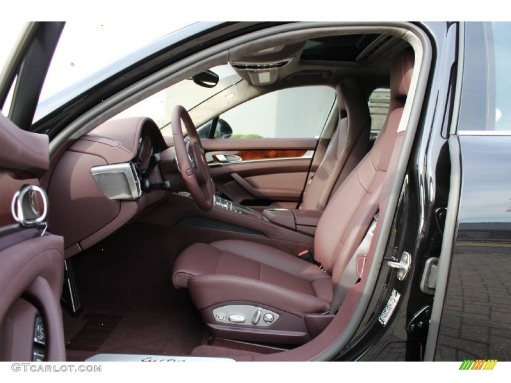 marsala red interior 2012 porsche panamera turbo photo 56061737