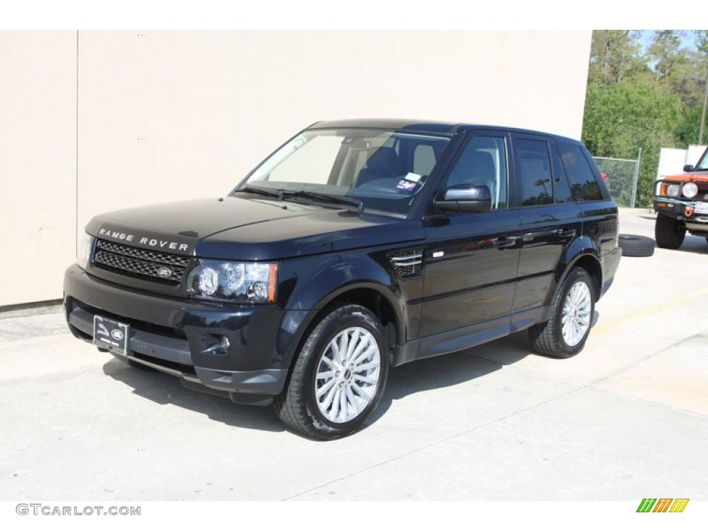 2012 santorini black metallic land rover range rover sport. Black Bedroom Furniture Sets. Home Design Ideas