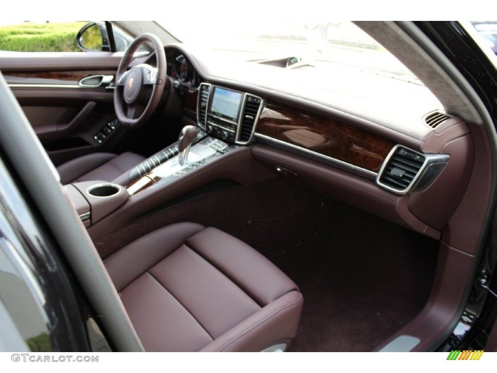 marsala red interior 2012 porsche panamera turbo photo 56061872