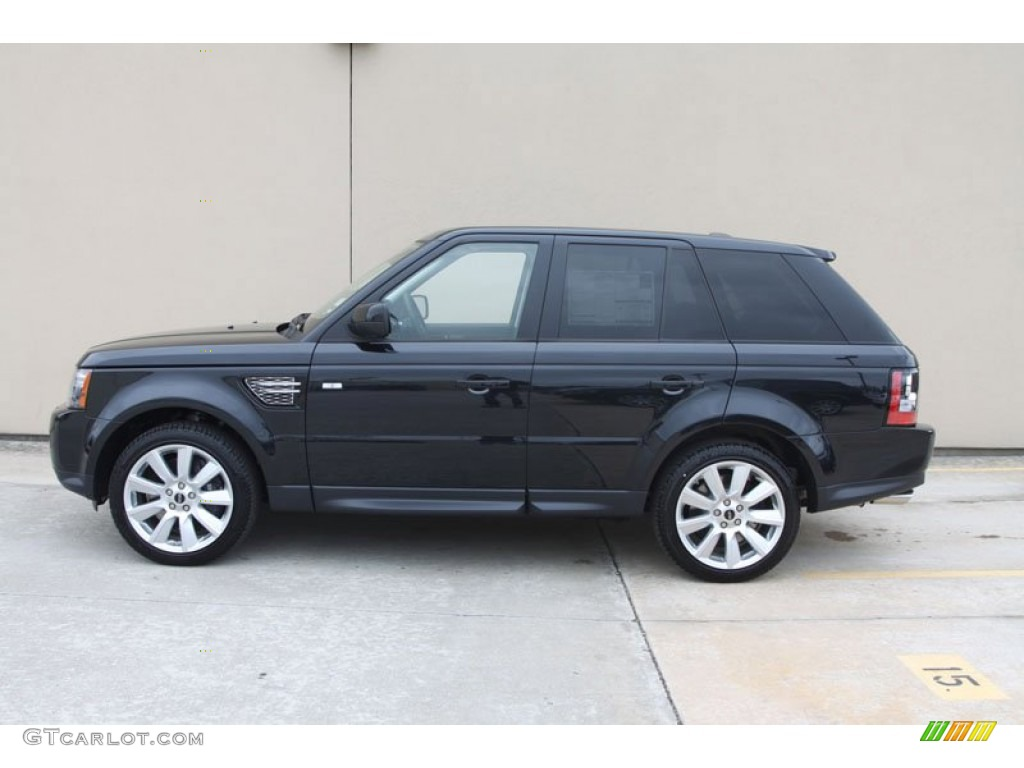 santorini black metallic 2012 land rover range rover sport. Black Bedroom Furniture Sets. Home Design Ideas