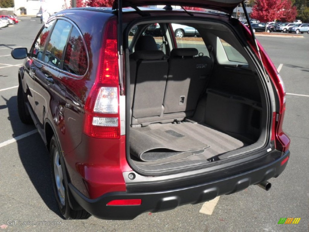 2009 CR-V LX 4WD - Tango Red Pearl / Gray photo #16
