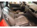 2011 Jaguar XK Warm Charcoal/Warm Charcoal/Cranberry Interior Interior Photo