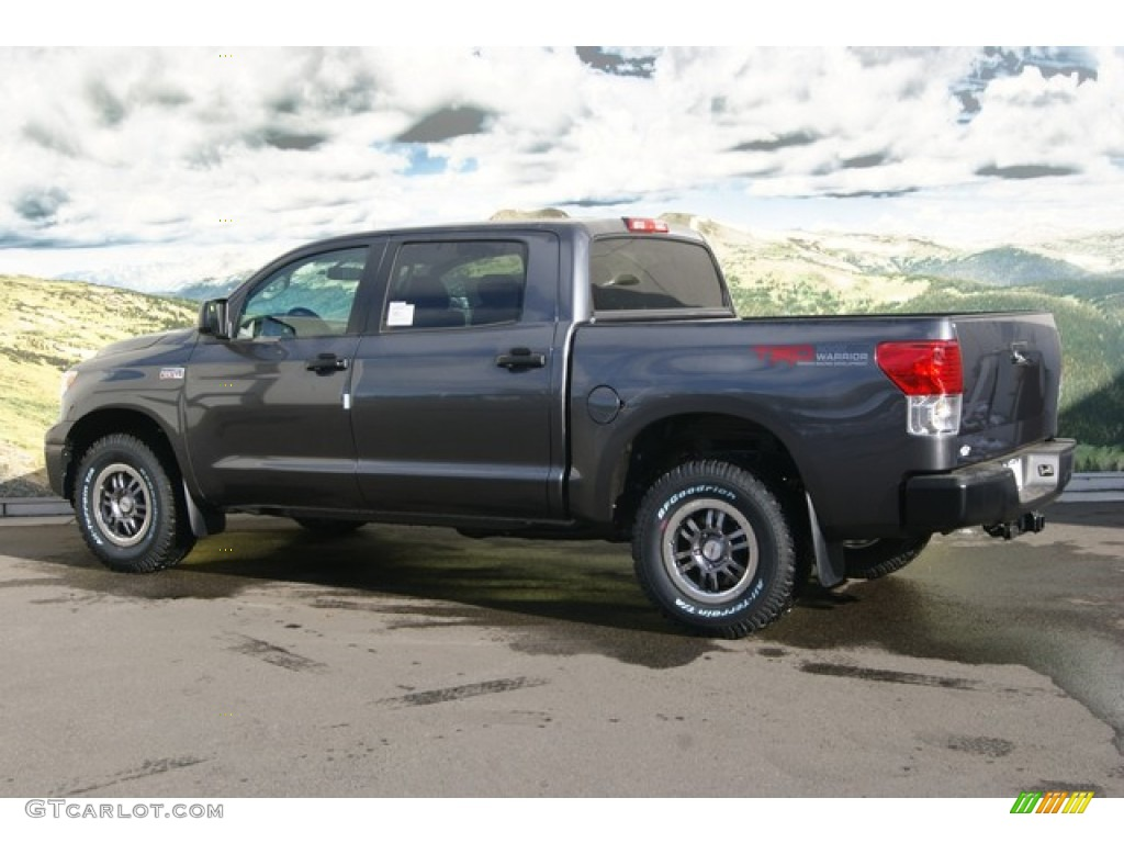 magnetic gray metallic 2012 toyota tundra trd rock warrior crewmax 4x4 exterior photo 56068313. Black Bedroom Furniture Sets. Home Design Ideas