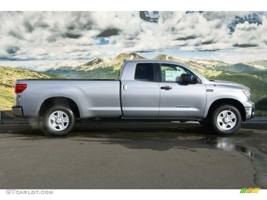silver sky metallic 2012 toyota tundra double cab 4x4 exterior photo 56068568. Black Bedroom Furniture Sets. Home Design Ideas