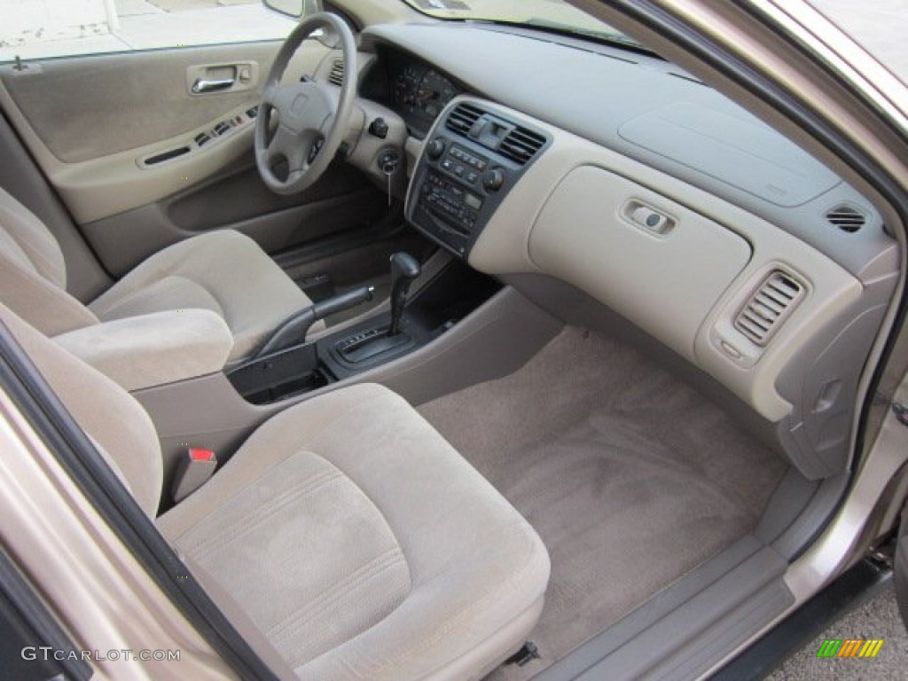 Ivory Interior 2000 Honda Accord Lx Sedan Photo 56072405