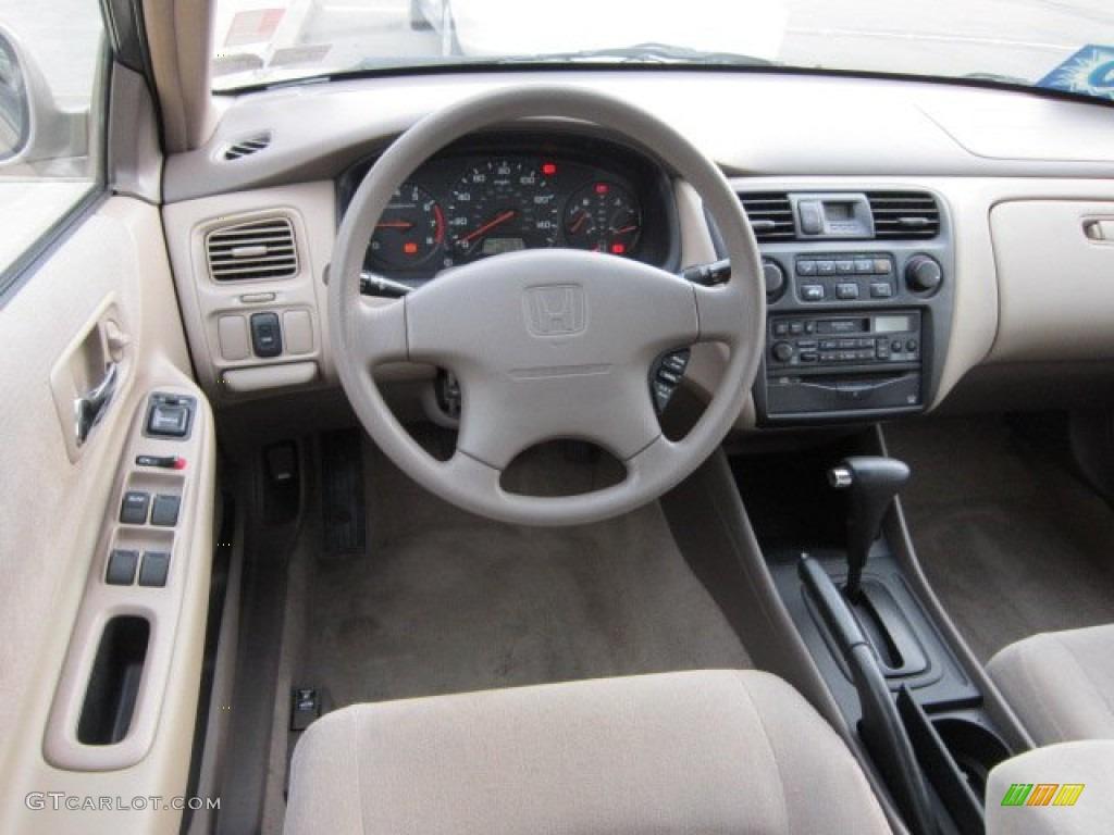 2000 Honda Accord Lx Sedan Ivory Dashboard Photo 56072445