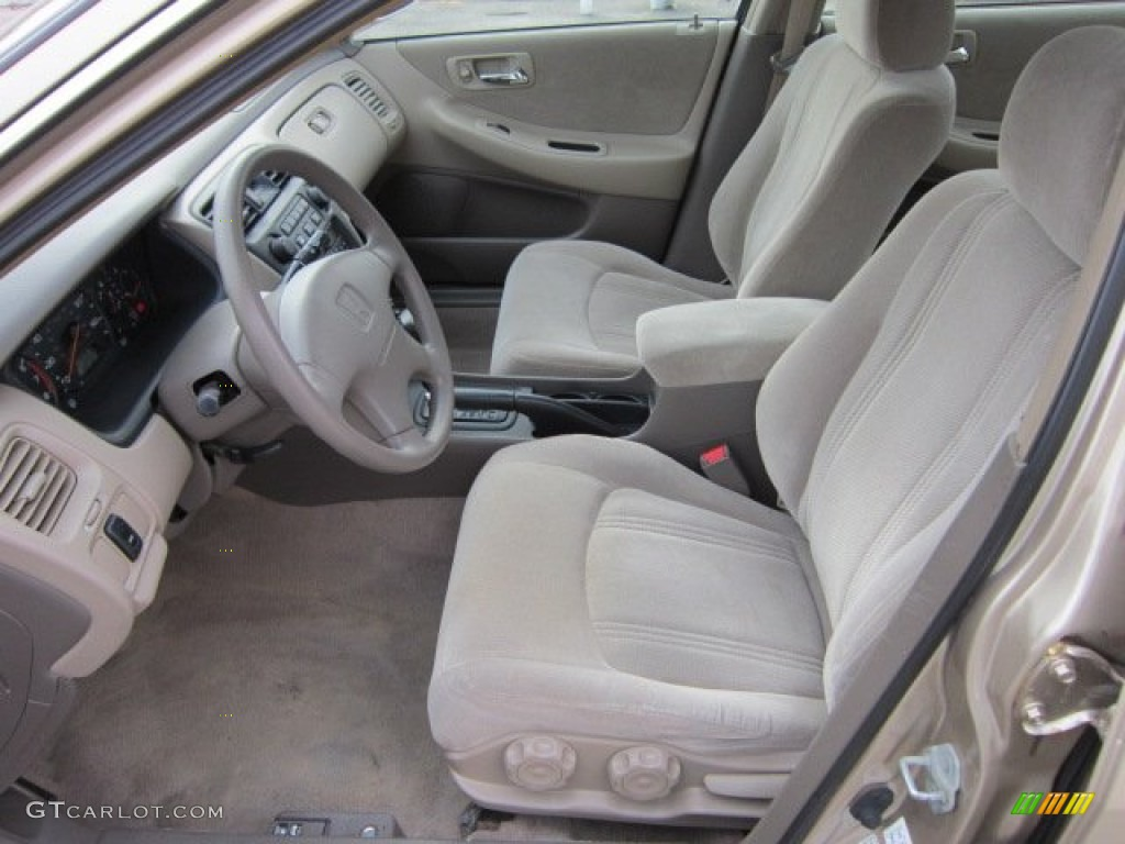 Ivory Interior 2000 Honda Accord Lx Sedan Photo 56072453