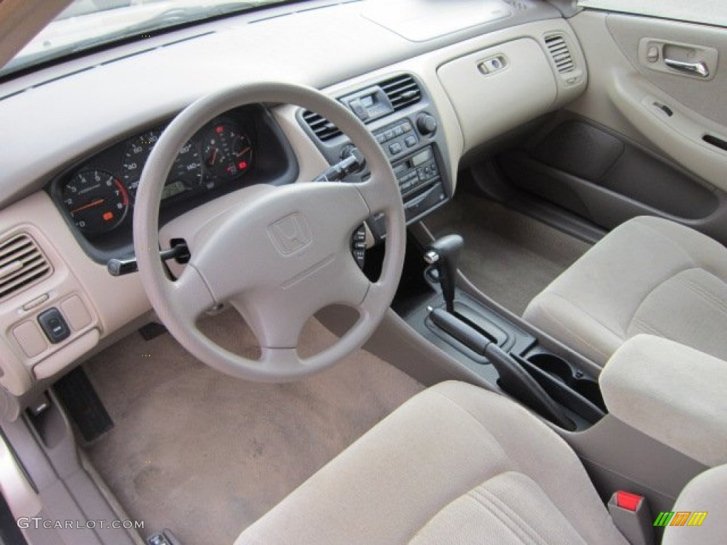 Ivory Interior 2000 Honda Accord LX Sedan Photo #56072462 | GTCarLot ...