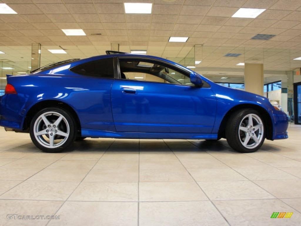 2006 RSX Type S Sports Coupe - Vivid Blue Pearl / Ebony photo #1