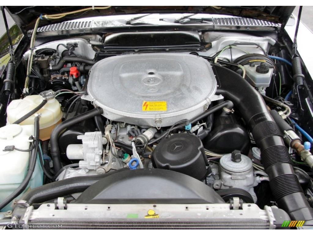 1986 mercedes benz sl class 560 sl roadster 5 6 liter sohc 16 valve v8 engine photo 56092847. Black Bedroom Furniture Sets. Home Design Ideas