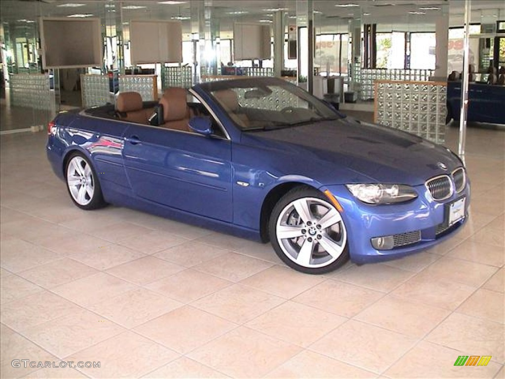 2007 montego blue metallic bmw 3 series 335i convertible. Black Bedroom Furniture Sets. Home Design Ideas