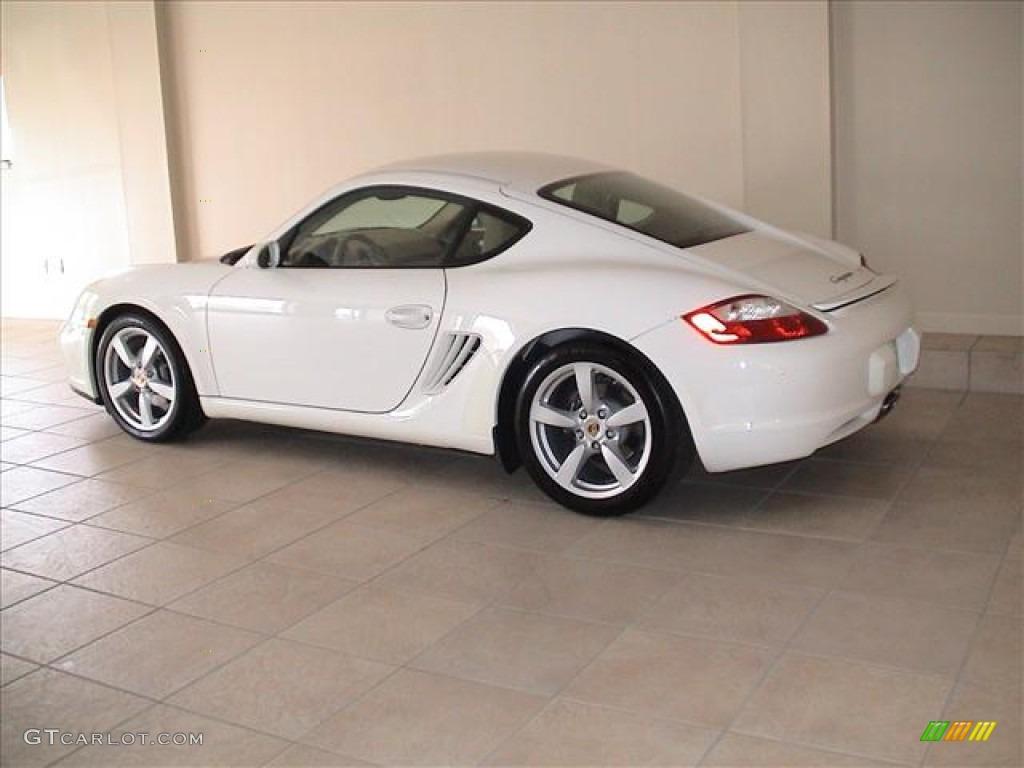 Carrara White 2008 Porsche Cayman Standard Cayman Model