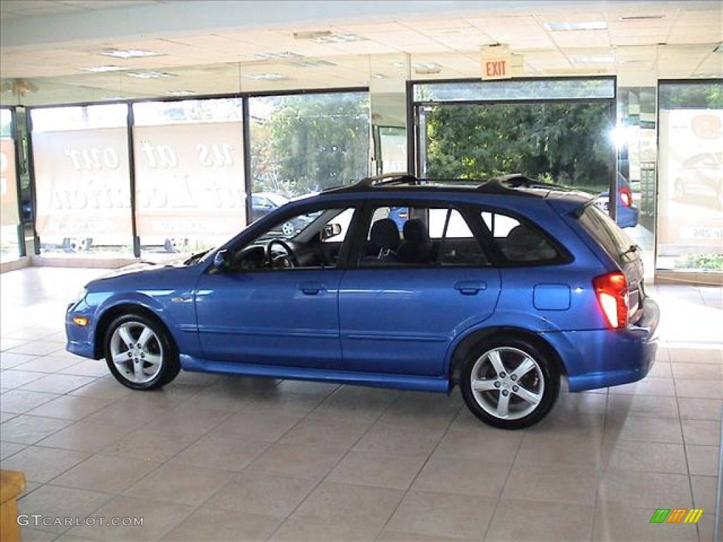 laser blue mica 2003 mazda protege 5 wagon exterior photo. Black Bedroom Furniture Sets. Home Design Ideas