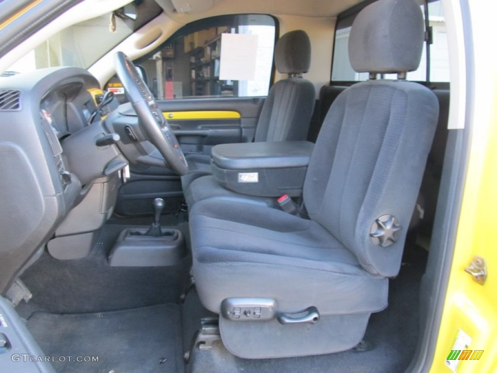 Dark Slate Gray Interior 2005 Dodge Ram 1500 SLT Rumble ...