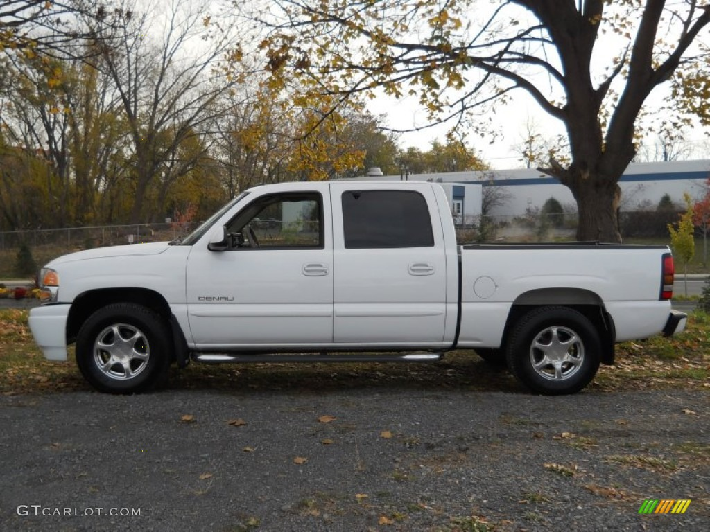summit white 2005 gmc sierra 1500 denali crew cab awd. Black Bedroom Furniture Sets. Home Design Ideas