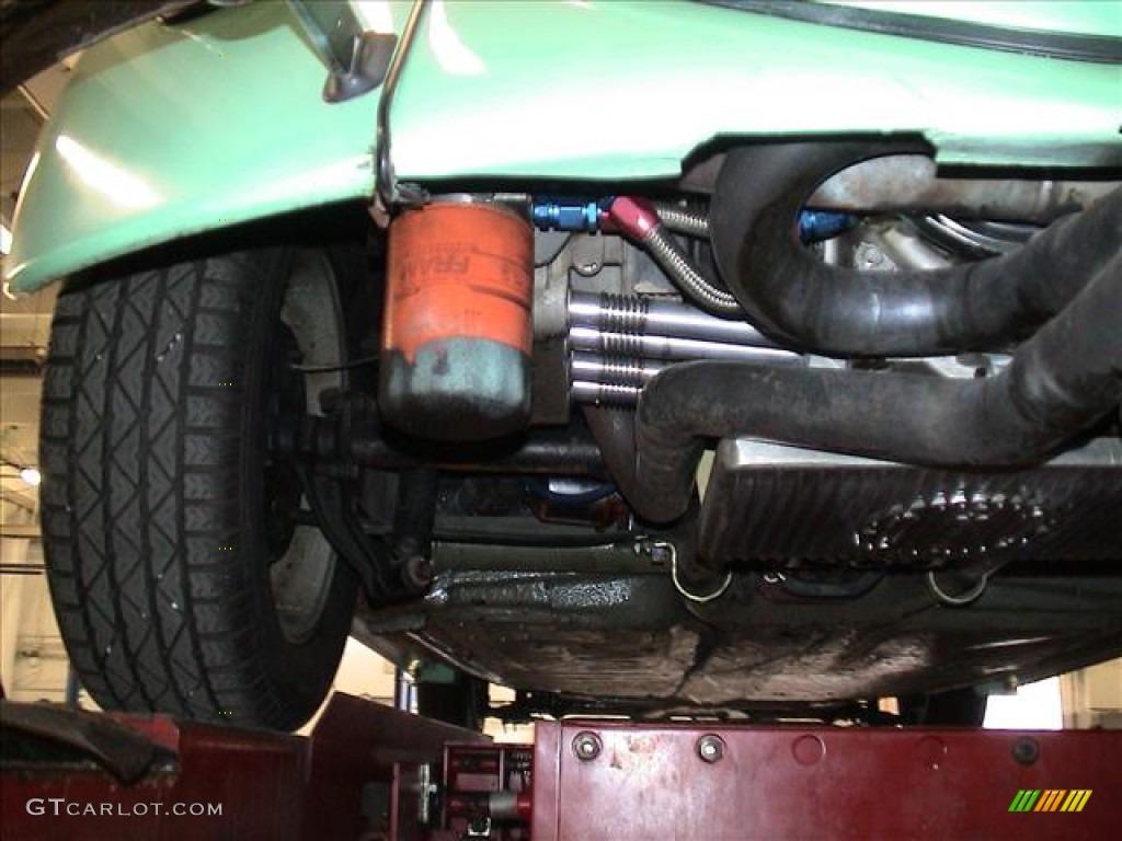 1966 Volkswagen Beetle Custom Coupe Undercarriage Photo