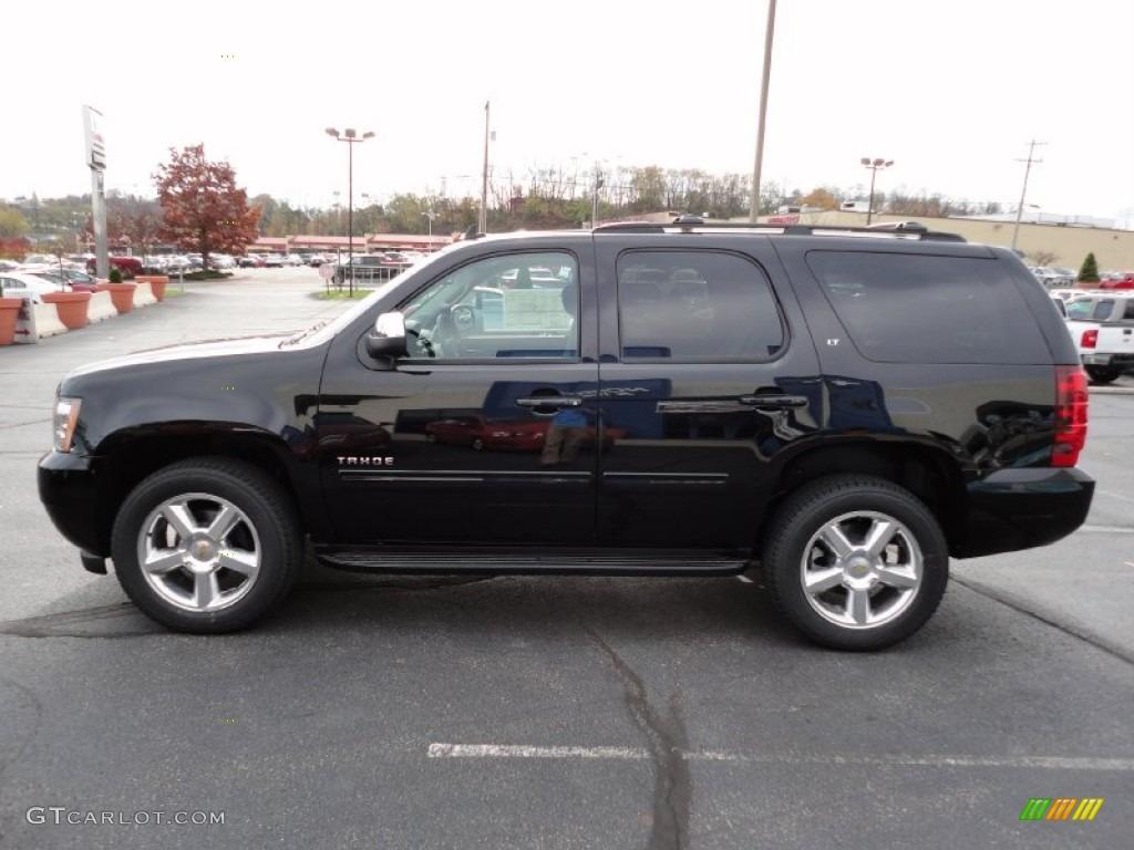 Black 2012 Chevrolet Tahoe LT 4x4 Exterior Photo 56110322