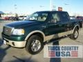 Forest Green Metallic 2007 Ford F150 Lariat SuperCrew 4x4