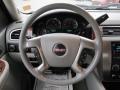 Dark Titanium/Light Titanium 2007 GMC Sierra 2500HD SLT Crew Cab 4x4 Steering Wheel