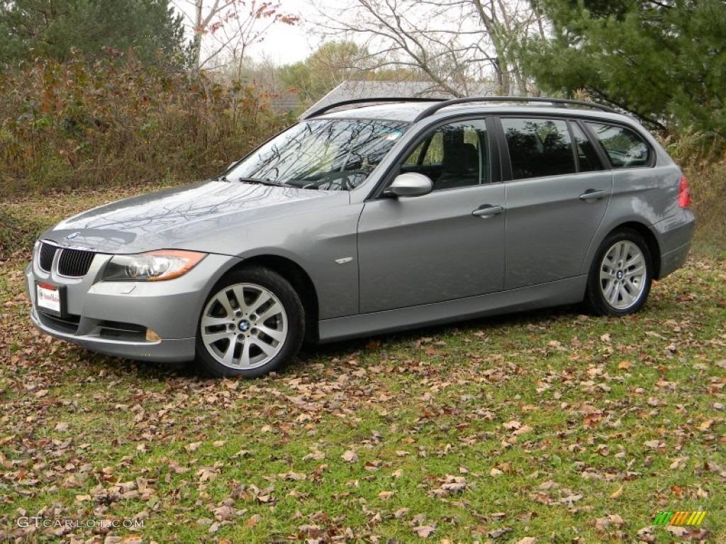Space Gray Metallic BMW Series Xi Wagon - 2007 bmw 328xi wagon