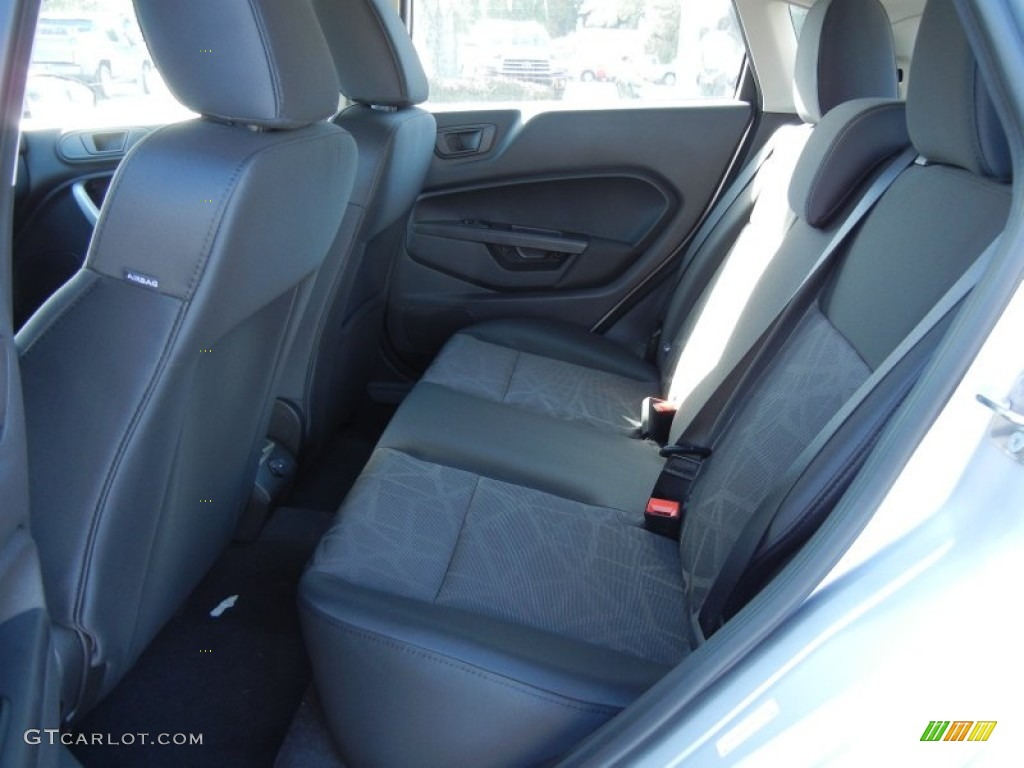 Charcoal Black Interior 2012 Ford Fiesta Se Hatchback Photo 56125931