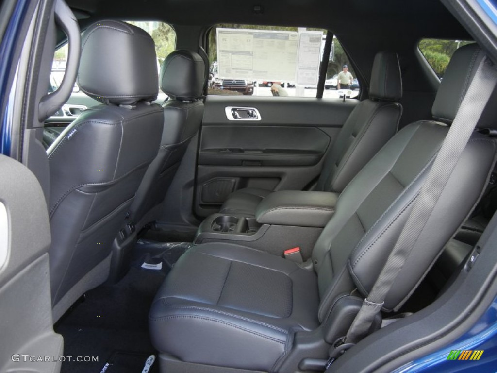 Charcoal Black Interior 2012 Ford Explorer Limited Photo 56126912