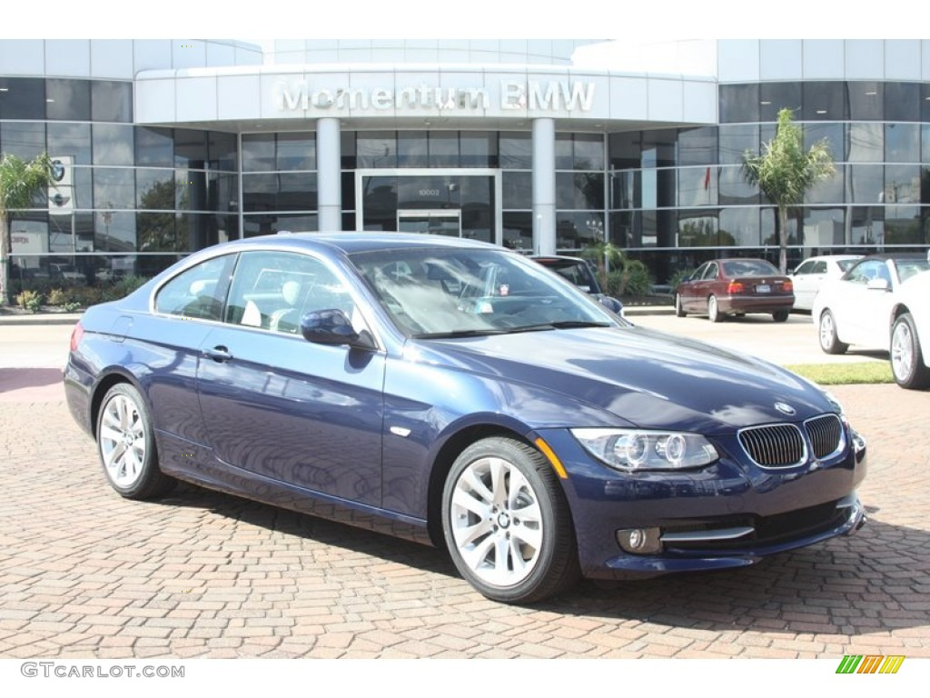 2012 deep sea blue metallic bmw 3 series 328i coupe. Black Bedroom Furniture Sets. Home Design Ideas