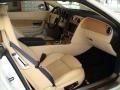 Saffron/Beluga 2008 Bentley Continental GTC Interiors