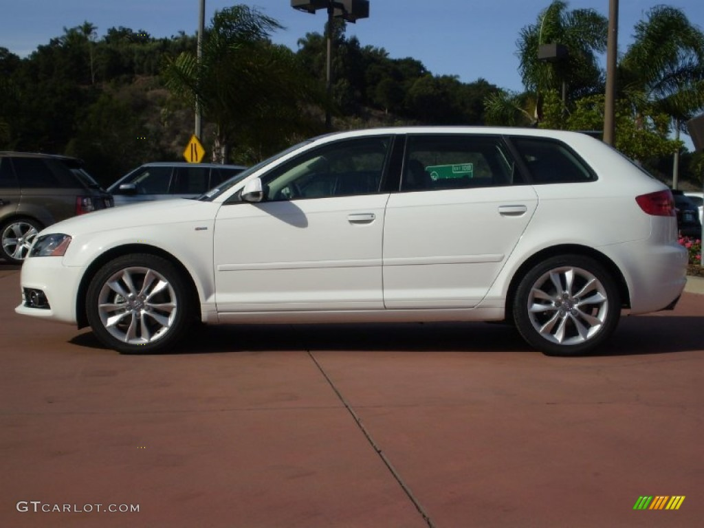 ibis white 2012 audi a3 2 0 tdi exterior photo 56135765. Black Bedroom Furniture Sets. Home Design Ideas