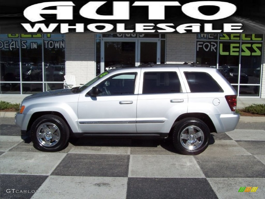 2005 bright silver metallic jeep grand cherokee limited #56087302