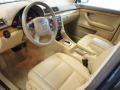 Beige Prime Interior Photo for 2008 Audi A4 #56136068