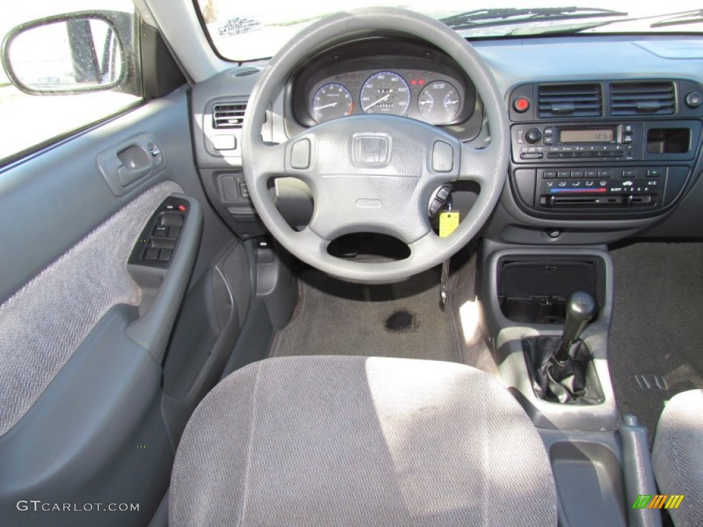 1998 Honda Civic LX Sedan Dashboard Photos   GTCarLot.com