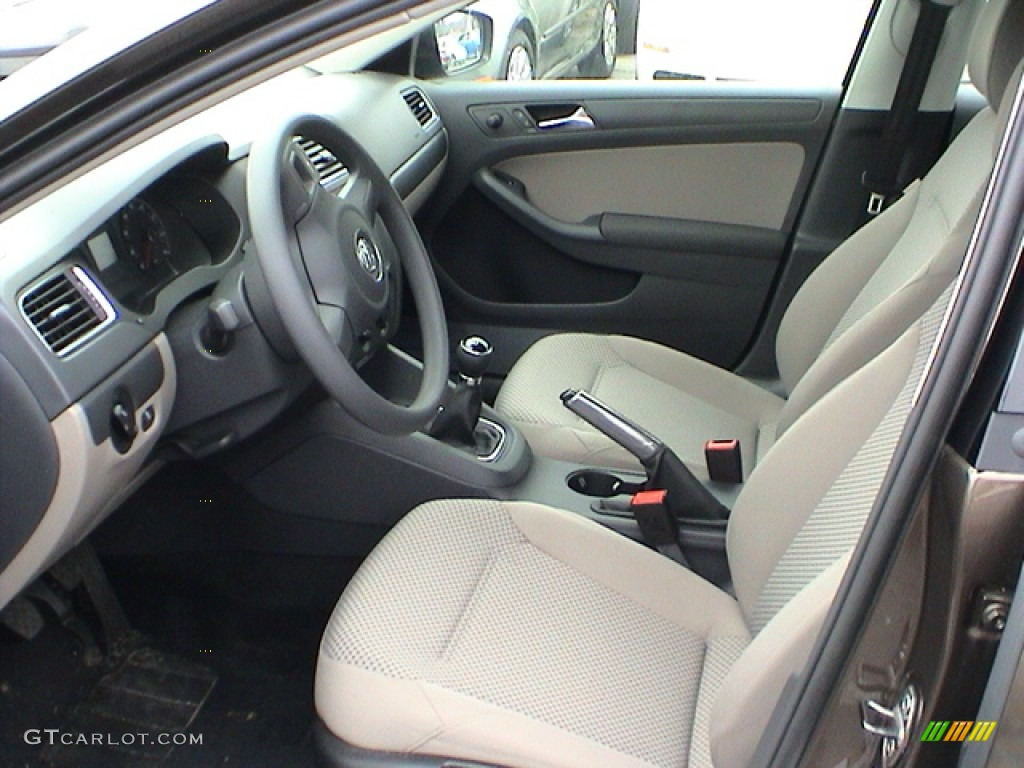 Latte Macchiato Interior 2011 Volkswagen Jetta S Sedan Photo 56143370