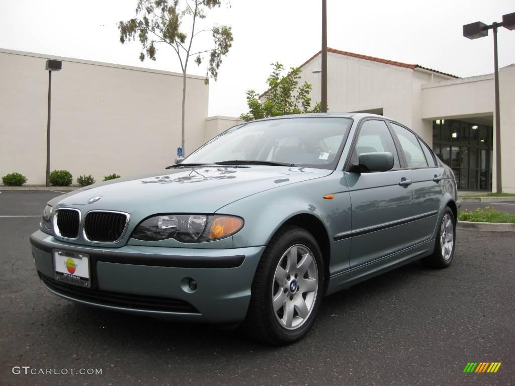 2005 Gray Green Metallic Bmw 3 Series 325i Sedan 5598575