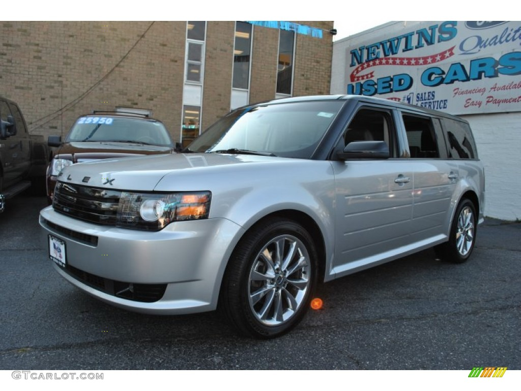 2011 ingot silver metallic ford flex titanium awd ecoboost. Black Bedroom Furniture Sets. Home Design Ideas