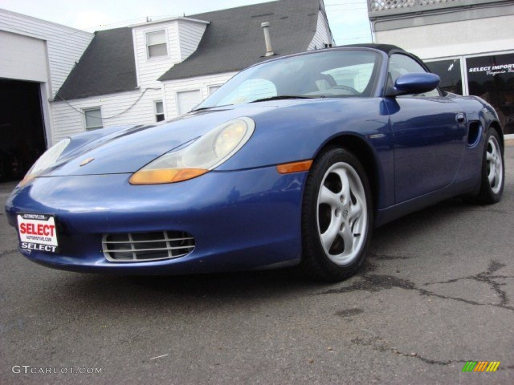 1997 Boxster  - Zenith Blue Metallic / Graphite Grey photo #1