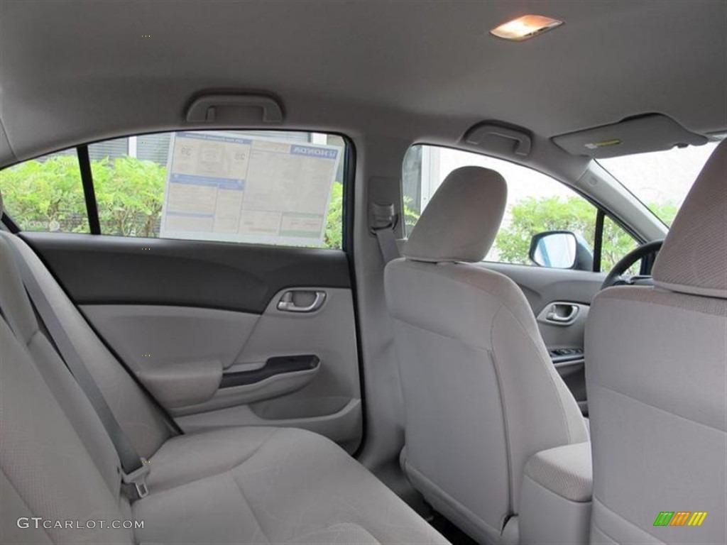 2012 Honda Civic LX Sedan Interior Photo #56164949