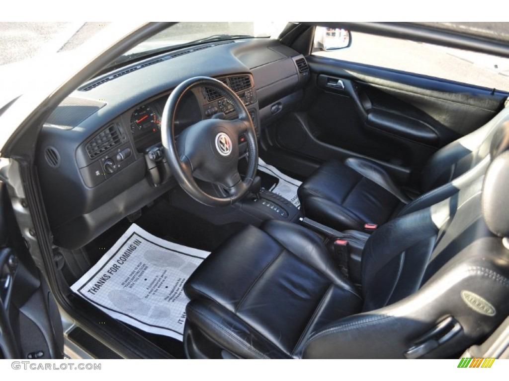 2000 volkswagen cabrio gls interior photos