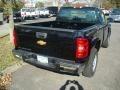 2012 Black Chevrolet Silverado 1500 Work Truck Regular Cab 4x4  photo #2
