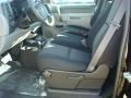 2012 Black Chevrolet Silverado 1500 Work Truck Regular Cab 4x4  photo #3